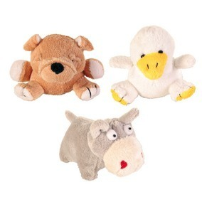 Peluches mini animaux assortis